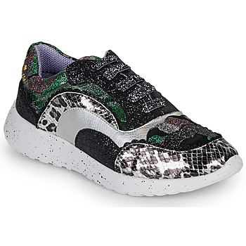 Shoes Women Low top trainers Irregular Choice JIGSAW Black / Silver