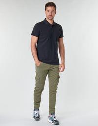 material Men Cargo trousers Le Temps des Cerises ALBAN Kaki