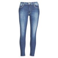 material Women slim jeans Le Temps des Cerises PULP SLIM TAILLE HAUTE 7/8 Blue