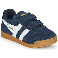 Shoes Children Low top trainers Gola HARRIER VELCRO Marine