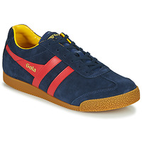 Shoes Men Low top trainers Gola HARRIER Marine / Red