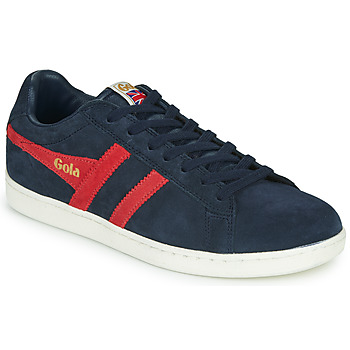 Shoes Men Low top trainers Gola EQUIPE SUEDE Marine / Red