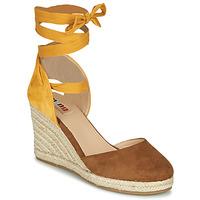 Shoes Women Sandals MTNG GELLO Brown / Mustard