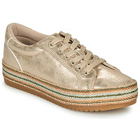 Shoes Women Low top trainers MTNG GOYAV Gold
