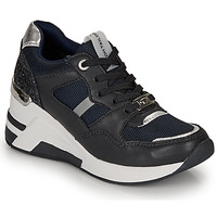 Shoes Women Low top trainers Tom Tailor 8091512 Marine / Black