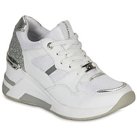 Shoes Women Low top trainers Tom Tailor 8091512 White / Silver