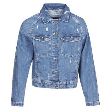 material Women Denim jackets Esprit ESPRILA Blue / Medium