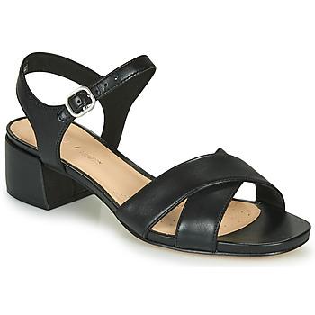Shoes Women Sandals Clarks SHEER35 STRAP Black