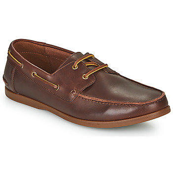 Shoes Men Derby shoes Clarks PICKWELL SAIL Brown