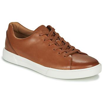 Shoes Men Low top trainers Clarks UN COSTA LACE Tan