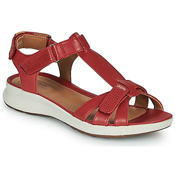 Shoes Women Sandals Clarks UN ADORN VIBE Red