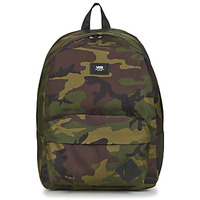 Bags Rucksacks Vans OLD SKOOL III BACKPACK Black / Kaki