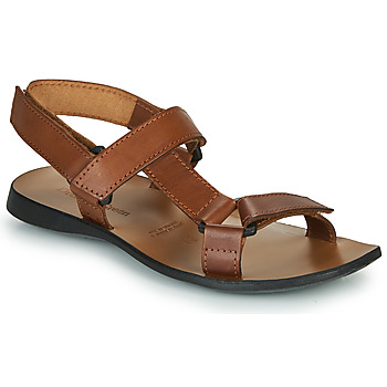 Shoes Men Sandals Dream in Green MELINDA Camel