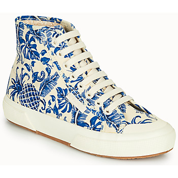 Shoes Women High top trainers Superga 2295-COTFANW Beige / Blue