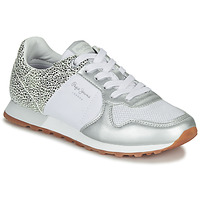 Shoes Women Low top trainers Pepe jeans VERONA White