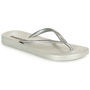 Shoes Women Flip flops Ipanema MESH IV Silver