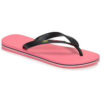 Shoes Women Flip flops Ipanema CLAS BRASIL II Pink / Black