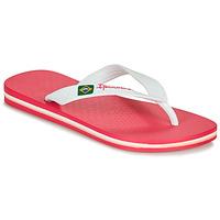 Shoes Girl Flip flops Ipanema CLAS BRASIL II Pink / White
