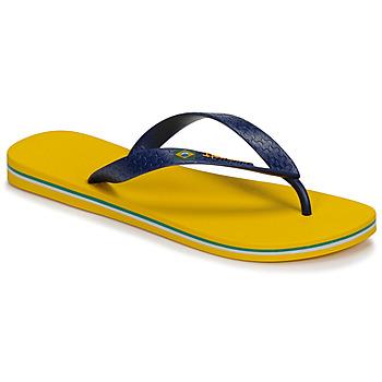 Shoes Men Flip flops Ipanema CLAS BRASIL II Yellow / Blue
