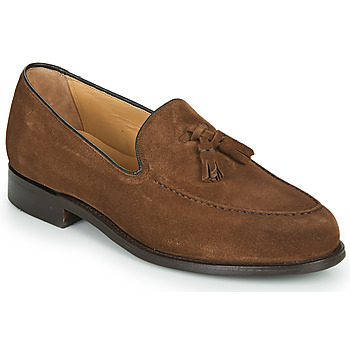 Shoes Men Loafers Barker STUDLAND Brown