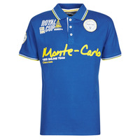 material Men short-sleeved polo shirts Geographical Norway KOCEAN Blue