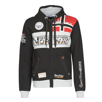 material Men sweaters Geographical Norway FLYER Black
