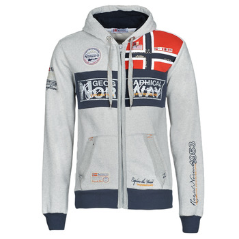 material Men sweaters Geographical Norway FLYER Grey / Mottled