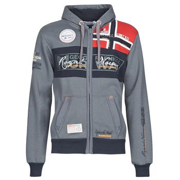 material Men sweaters Geographical Norway FLYER Grey / Dark
