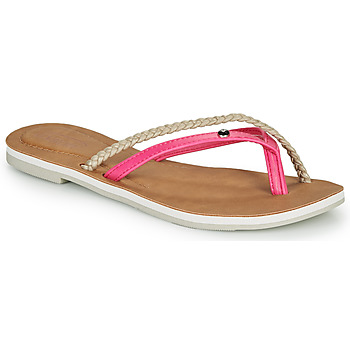 Shoes Women Flip flops Oxbow M1VASTANA Pink