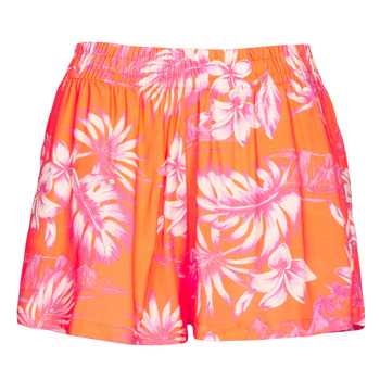 material Women Shorts / Bermudas Banana Moon OOKOW MAHINIVOI Orange
