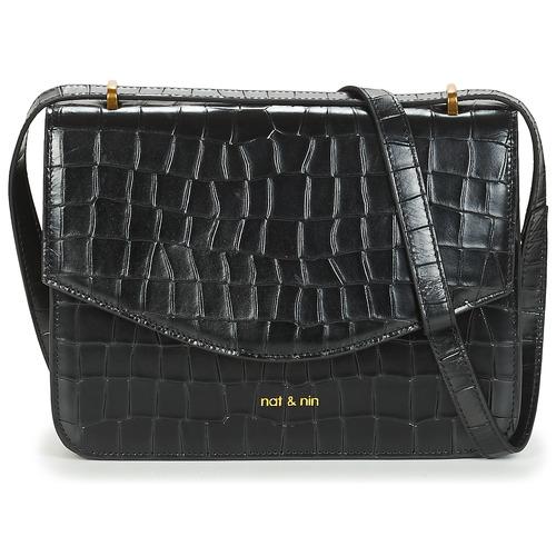 Bags Women Shoulder bags Nat et Nin HERMIONE Black