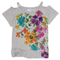 material Girl short-sleeved t-shirts Desigual EDIMBURGO Multicolour