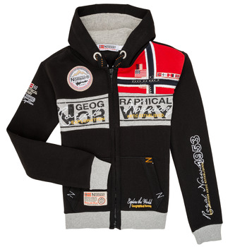 material Boy sweaters Geographical Norway FLYER Black