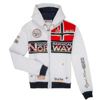material Boy sweaters Geographical Norway FLYER White
