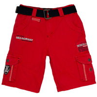 material Boy Shorts / Bermudas Geographical Norway POUDRE Red