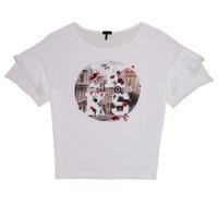 material Girl short-sleeved t-shirts Ikks DIBILIOU White