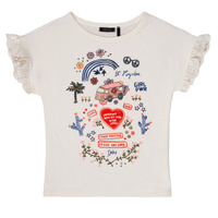 material Girl short-sleeved t-shirts Ikks DORELLA White