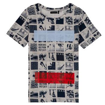 material Boy short-sleeved t-shirts Ikks YVES Beige
