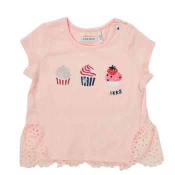 material Girl short-sleeved t-shirts Ikks DANIA Pink