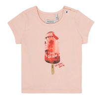 material Girl short-sleeved t-shirts Ikks HIRIS Pink