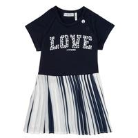 material Girl Short Dresses Ikks POELA Marine