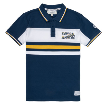material Boy short-sleeved polo shirts Kaporal ELIOR Marine