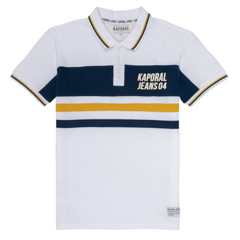 material Boy short-sleeved polo shirts Kaporal ELIOR White