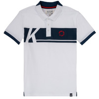 material Boy short-sleeved polo shirts Kaporal ERUDI White