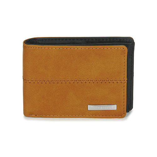 Bags Wallets Quiksilver NEW STITCHY WALLET Cognac