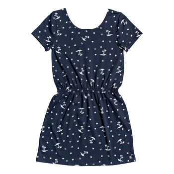 material Girl Short Dresses Roxy THE CLOUDS Marine
