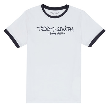 material Boy short-sleeved t-shirts Teddy Smith TICLASS 3 White