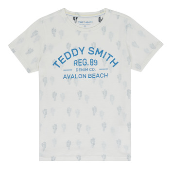 material Boy short-sleeved t-shirts Teddy Smith ERNEST Beige