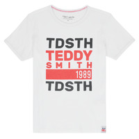material Boy short-sleeved t-shirts Teddy Smith DUSTIN White