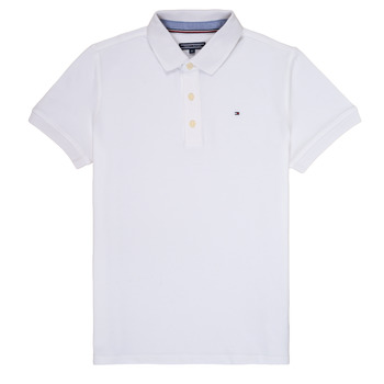 material Boy short-sleeved polo shirts Tommy Hilfiger  White